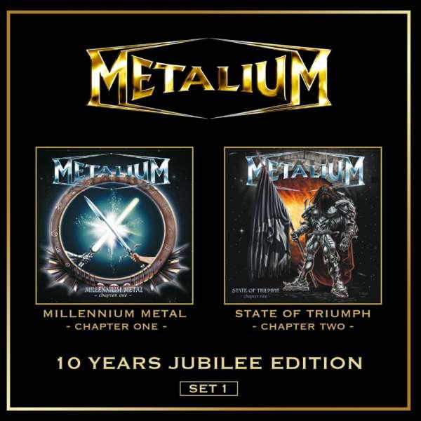 METALIUM - 10 Years Jubilee Edition-Set 1 - 2-CD Jewelcase