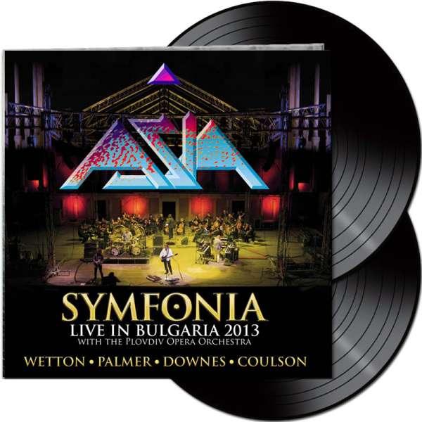 ASIA - Symfonia: Live In Bulgaria 2013 - Ltd. Gatefold BLACK 2-LP