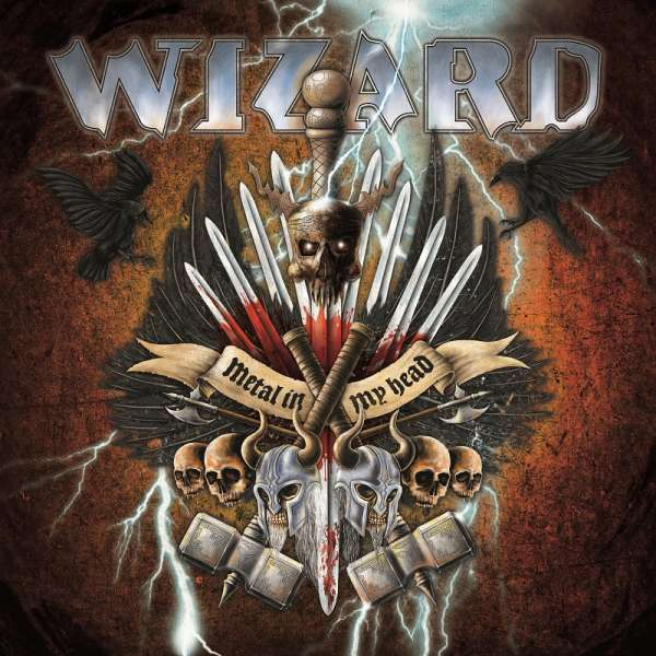 WIZARD - Metal In My Head - Ltd. BLACK LP