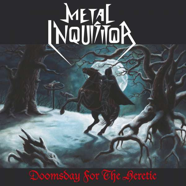 METAL INQUISITOR - Doomsday For The Heretic (Re-Release) - 2-CD Jewelcase