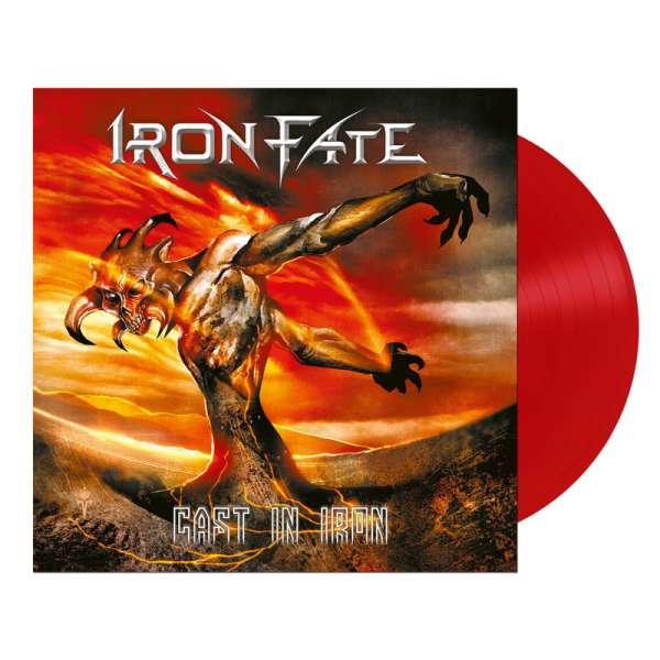 IRON FATE - Cast In Iron - Ltd. RED LP