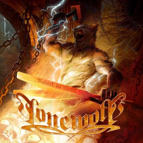 LONEWOLF - Raised On Metal - CD Jewelcase