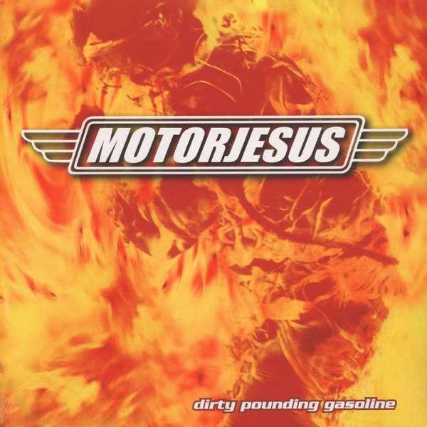MOTORJESUS - Dirty Pounding Gasoline - Ltd. Marbled Flames LP