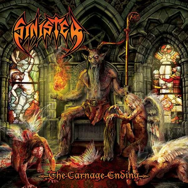 SINISTER - The Carnage Ending - Ltd. Digipak 2-CD