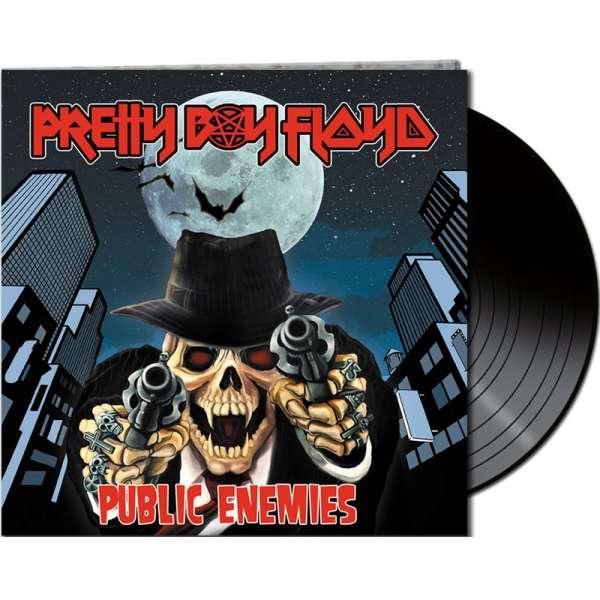 PRETTY BOY FLOYD - Public Enemies - Ltd. Gatefold BLACK LP