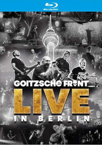 GOITZSCHE FRONT - Live in Berlin - 2-Blu-Ray + 2-CD (4 Discs)