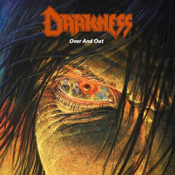 DARKNESS - Over And Out - Ltd. GREEN LP