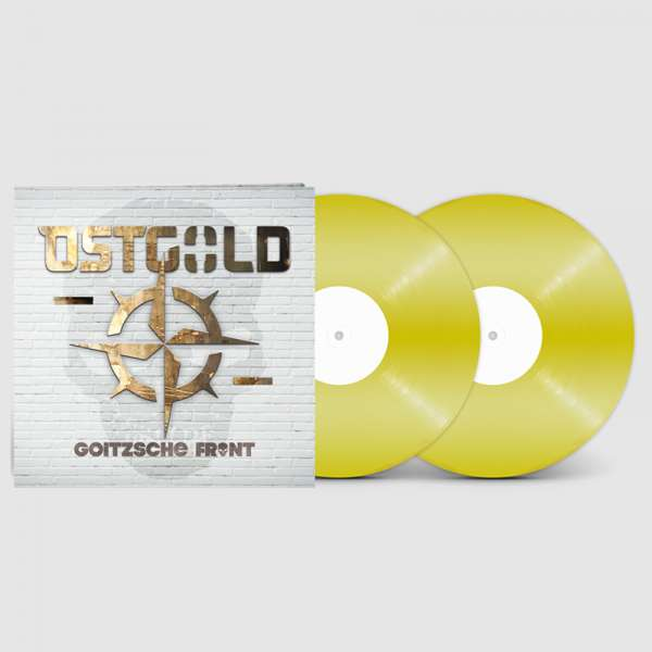 GOITZSCHE FRONT - Ostgold - Ltd. Gatefold GOLD Vinyl LP - Shop Exclusive!