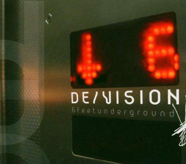 DE/VISION - 6 Feet Underground - CD Jewelcase