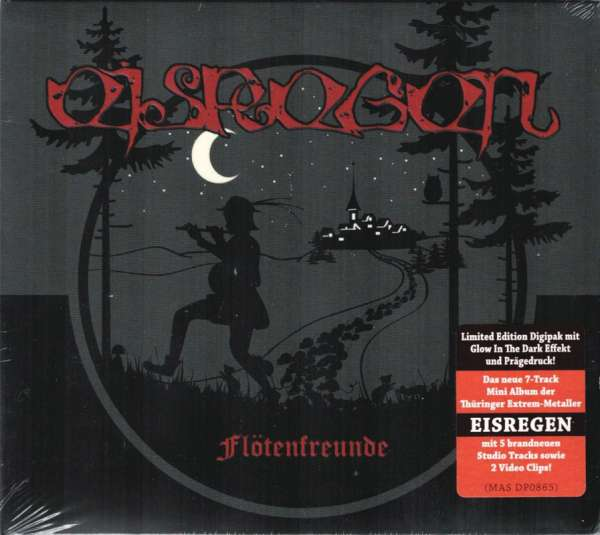 EISREGEN - Flötenfreunde EP - Ltd. Digipak-CD
