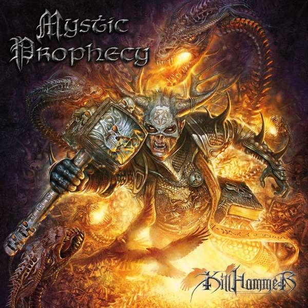 MYSTIC PROPHECY - Killhammer - CD Jewelcase