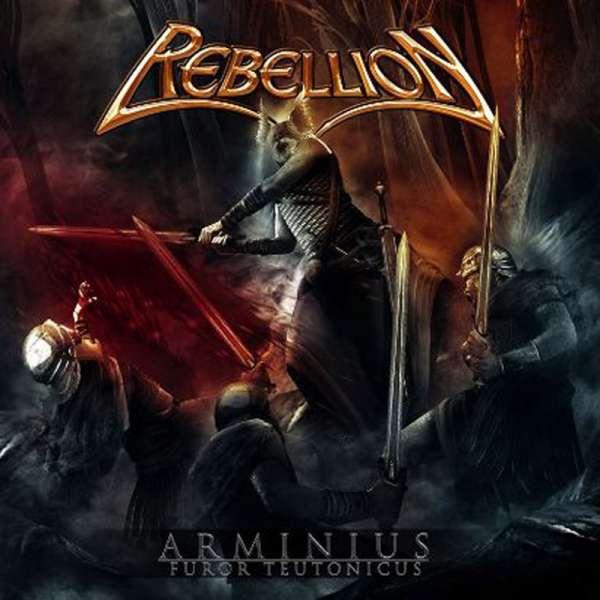 REBELLION - Arminius: Furor Teutonicus - CD Jewelcase