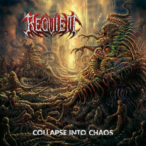 REQUIEM - Collapse Into Chaos - Digipak-CD