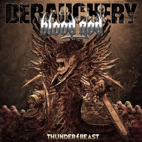 DEBAUCHERY VS. BLOOD GOD - Thunderbeast - Ltd. 3-CD-Digipak