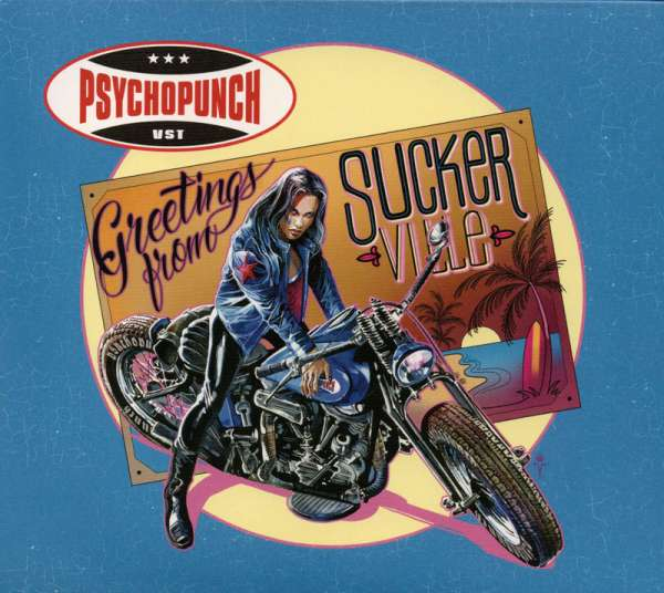 PSYCHOPUNCH - Greetings From Suckerville - Digipak-CD