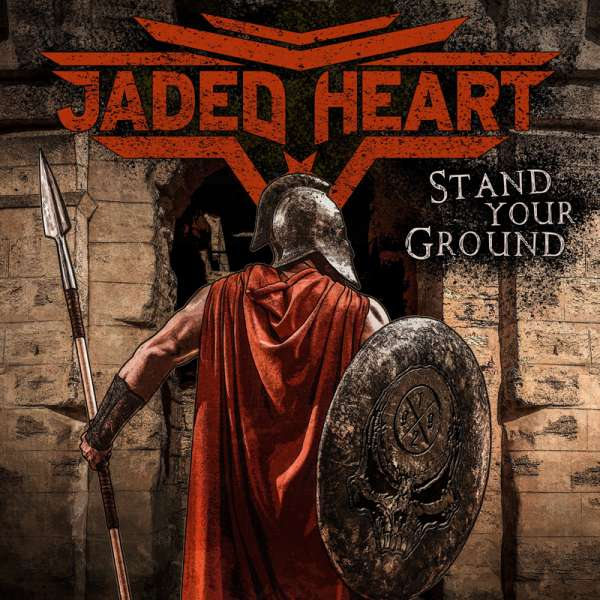JADED HEART - Stand Your Ground - Ltd. BLACK LP