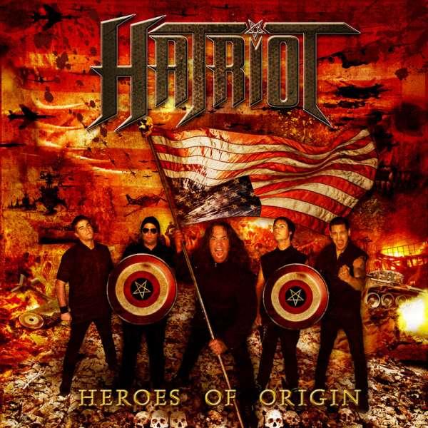 HATRIOT - Heroes Of Origin - CD Jewelcase
