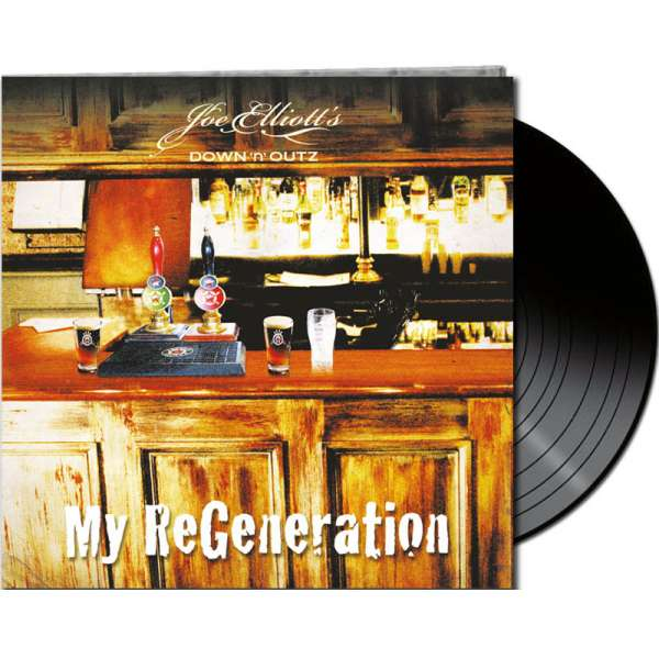 Joe Elliot´s DOWN 'N OUTZ - My Re-Generation - Ltd. Gatefold BLACK LP