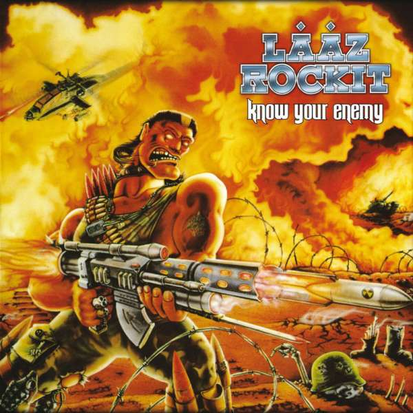 LAAZ ROCKIT - Know Your Enemy (Re-Issue) - CD+DVD Jewelcase
