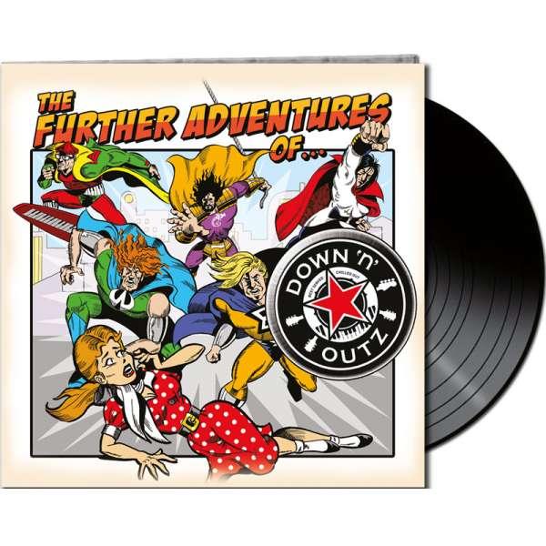 Joe Elliot´s DOWN 'N OUTZ - The Further Adventures Of… - Ltd. Gatefold BLACK LP