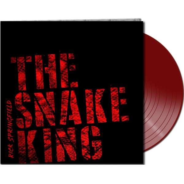 RICK SPRINGFIELD - The Snake King - Ltd. Gatefold RED LP - Exclusive!