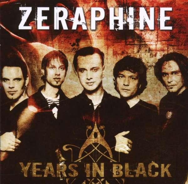 ZERAPHINE - Years In Black - Best Of - CD Jewelcase