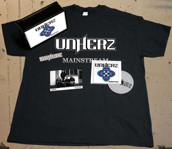 UNHERZ - Mainstream - Ltd. Boxset (incl. T-Shirt XL)