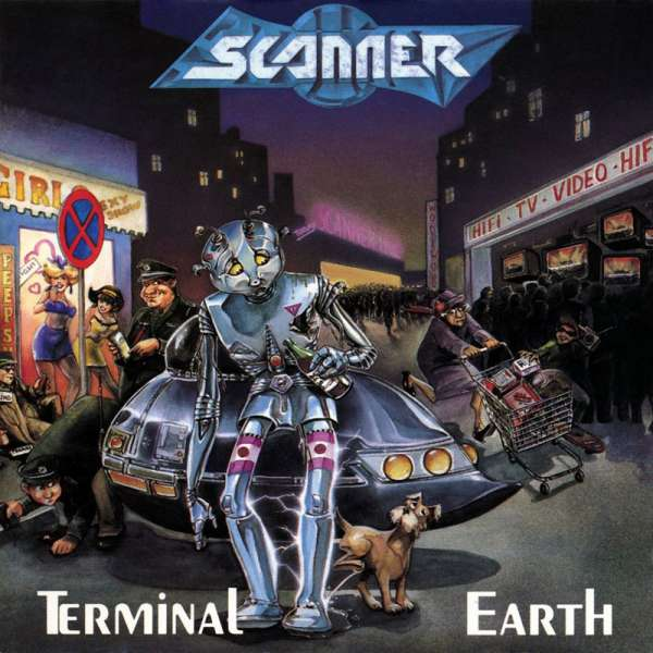SCANNER - Terminal Earth (Re-Release) - CD Jewelcase