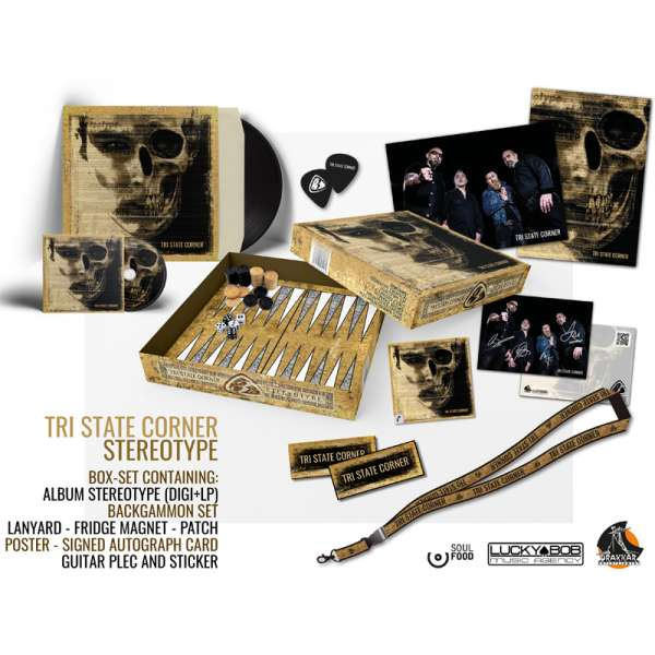TRI STATE CORNER - Stereotype - Ltd. Boxset (incl.CD+LP+Backgammon-Game+more)