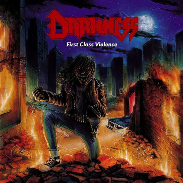 DARKNESS - First Class Violence - Ltd. WHITE LP