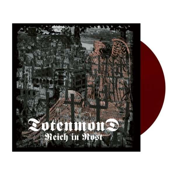 TOTENMOND - Reich in Rost - Ltd. OXBLOOD LP