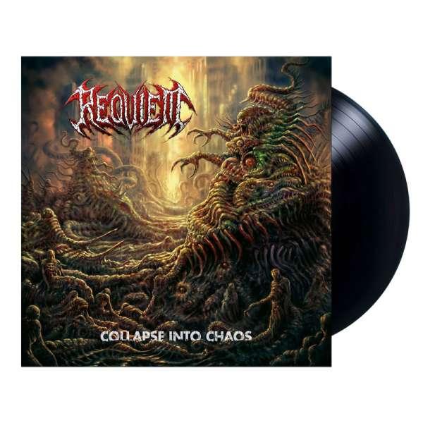 REQUIEM - Collapse Into Chaos - Ltd. BLACK LP
