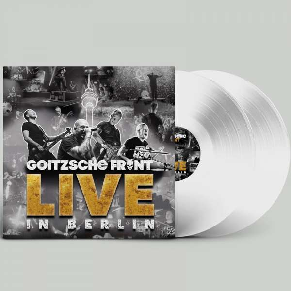 GOITZSCHE FRONT - Live in Berlin - Ltd. Gatefold CLEAR 3-LP - Shop Exclusive!