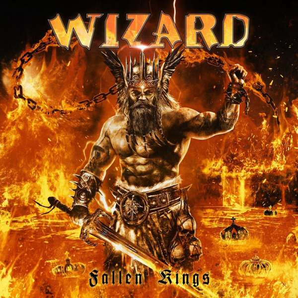 WIZARD - Fallen Kings - CD Jewelcase