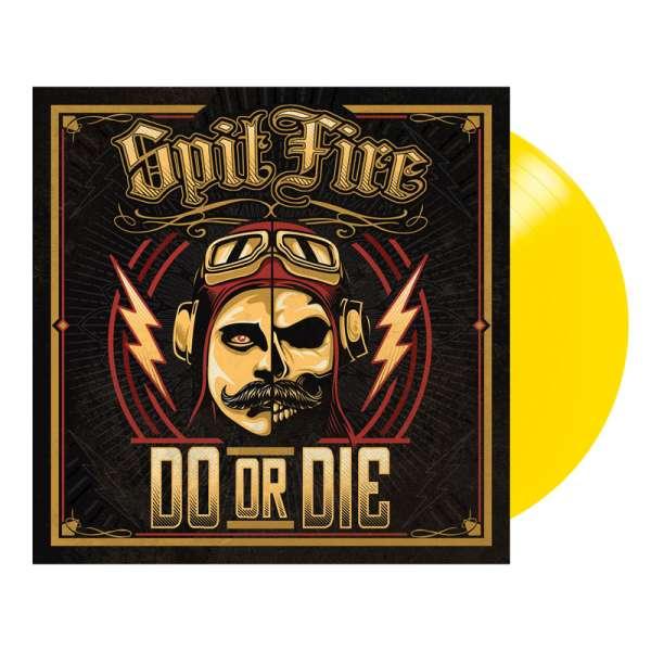 SPITFIRE - Do Or Die - Ltd. YELLOW LP