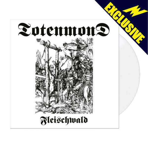 TOTENMOND - Fleischwald - Ltd. WHITE LP - Shop Exclusive!