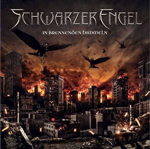 SCHWARZER ENGEL - In Brennenden Himmeln - CD Jewelcase
