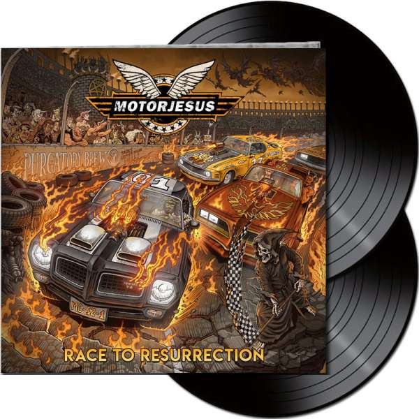 MOTORJESUS - Race To Resurrection - Ltd. Gatefold Black 2-LP