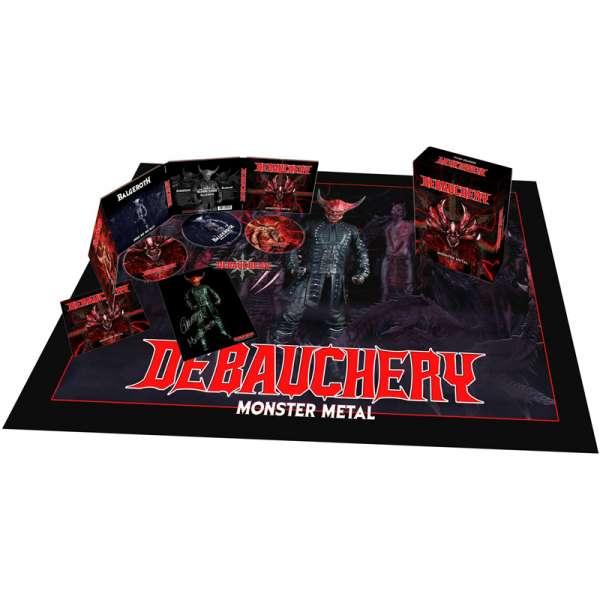 DEBAUCHERY - Monster Metal - Ltd. Boxset