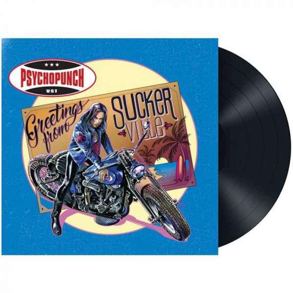 PSYCHOPUNCH - Greetings From Suckerville - Ltd. Gatefold BLACK LP