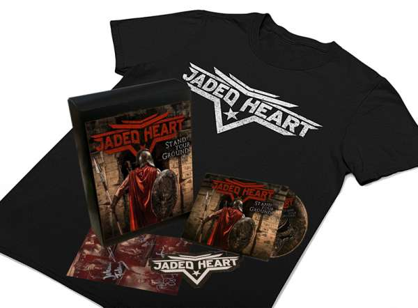 JADED HEART - Stand Your Ground - Ltd. Boxset (incl. T-Shirt Sizes M+XL)