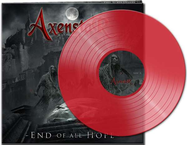 AXENSTAR - End Of All Hope - Ltd. CLEAR RED LP