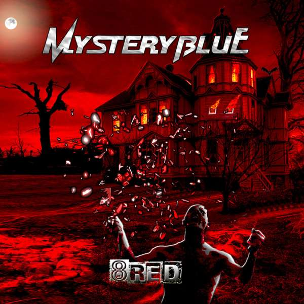 MYSTERY BLUE - 8Red - CD Jewelcase