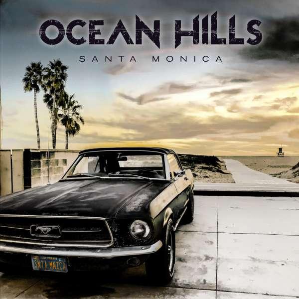 OCEAN HILLS - Santa Monica - CD Jewelcase