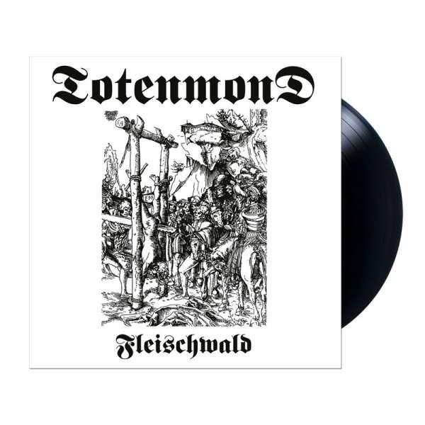 TOTENMOND - Fleischwald - Ltd. BLACK LP