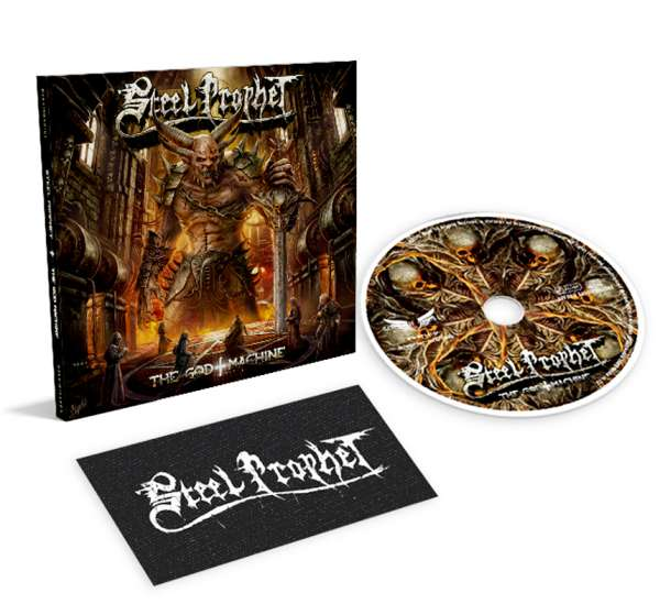 STEEL PROPHET - The God Machine - LTD. Digipack CD + Logo Patch
