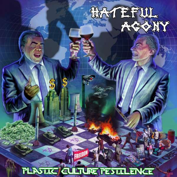 HATEFUL AGONY - PLASTIC, CULTURE, PESTILENCE - CD (Jewelcase)