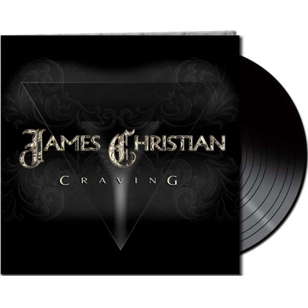 JAMES CHRISTIAN - Craving - Ltd. Gatefold BLACK LP