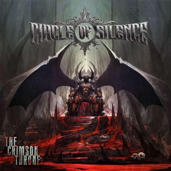 CIRCLE OF SILENCE - The Crimson Throne - Ltd. Gatefold BLACK LP