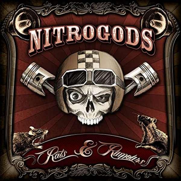 NITROGODS - Rats & Rumours - Ltd. Gtf. CLEAR LP + CD Jewelcase
